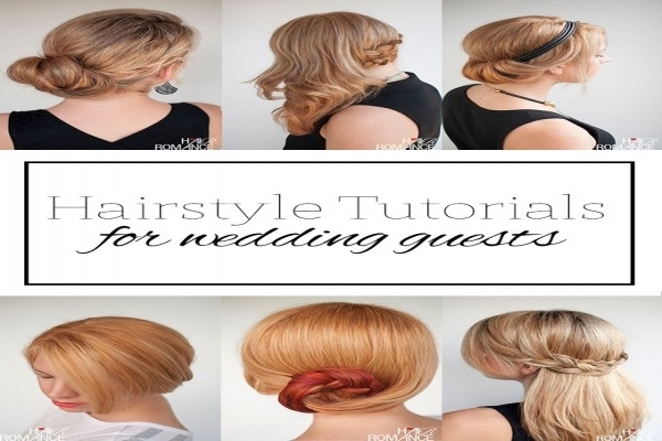 Top 5 Hairstyle Tutorials For Wedding Guests – Hair Romance Inside Diy Wedding Guest Hairstyles (View 11 of 15)