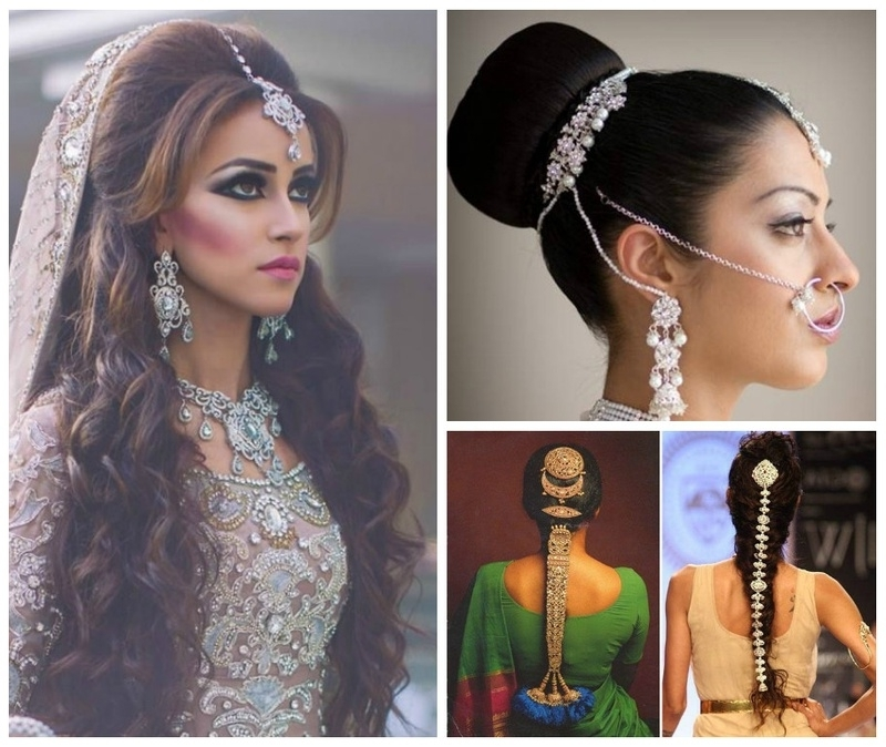 Top 5 Indian Bridal Hairstyles For Thin Hair! – Blog Intended For Indian Wedding Hairstyles For Short And Thin Hair (View 10 of 15)