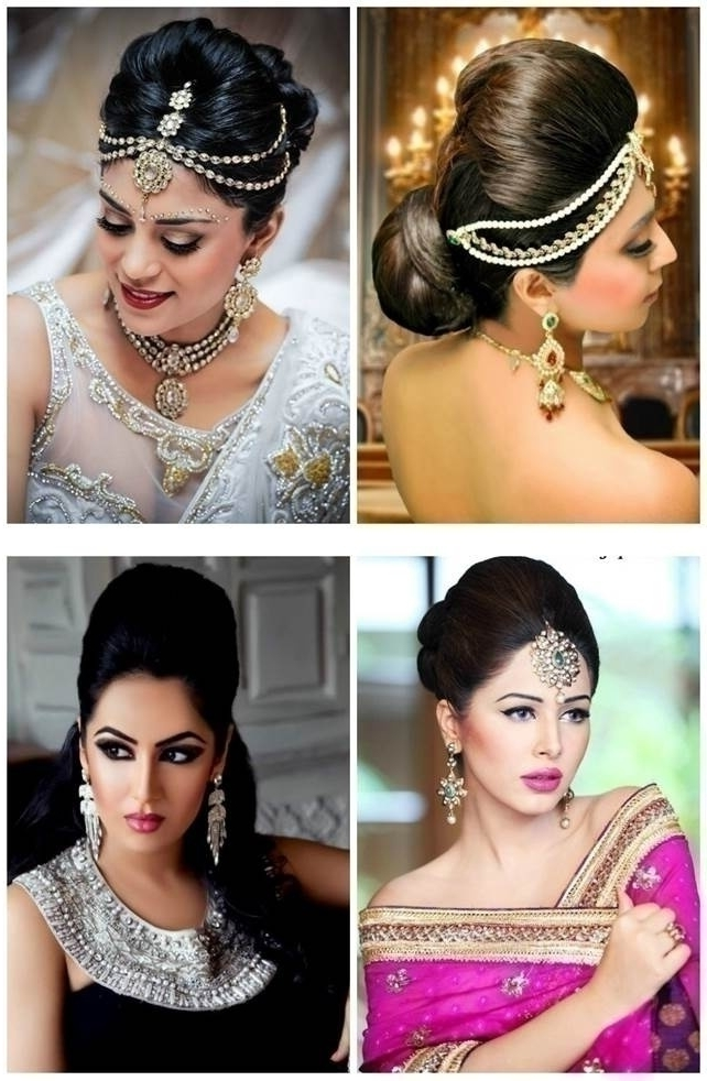 Top 5 Indian Bridal Hairstyles For Thin Hair! – Blog Intended For Indian Wedding Hairstyles For Short And Thin Hair (View 13 of 15)