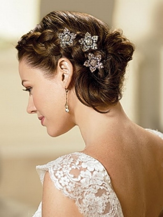 Top Classic Wedding Hairstyles With Best Wedding Hairstyles For Throughout Classic Wedding Hairstyles For Short Hair (View 3 of 15)