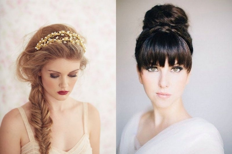 Featured Photo of Wedding Hairstyles For Round Shaped Faces
