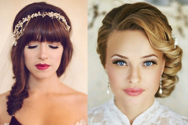 Top Tips To Find The Perfect Wedding Hairstyle For Your Face Shape With Regard To Wedding Hairstyles For Square Face (View 12 of 15)