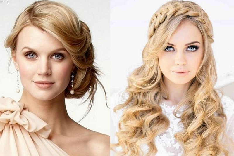 Top Tips To Find The Perfect Wedding Hairstyle For Your Face Shape With Wedding Hairstyles For Long Hair And Oval Face (View 12 of 15)