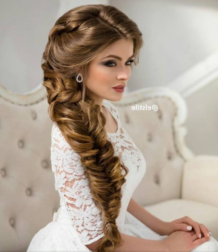 Top Vintage Wedding Hairstyles For Long Hair With Best Wedding Within Wedding Hairstyles For Vintage Long Hair (View 3 of 15)