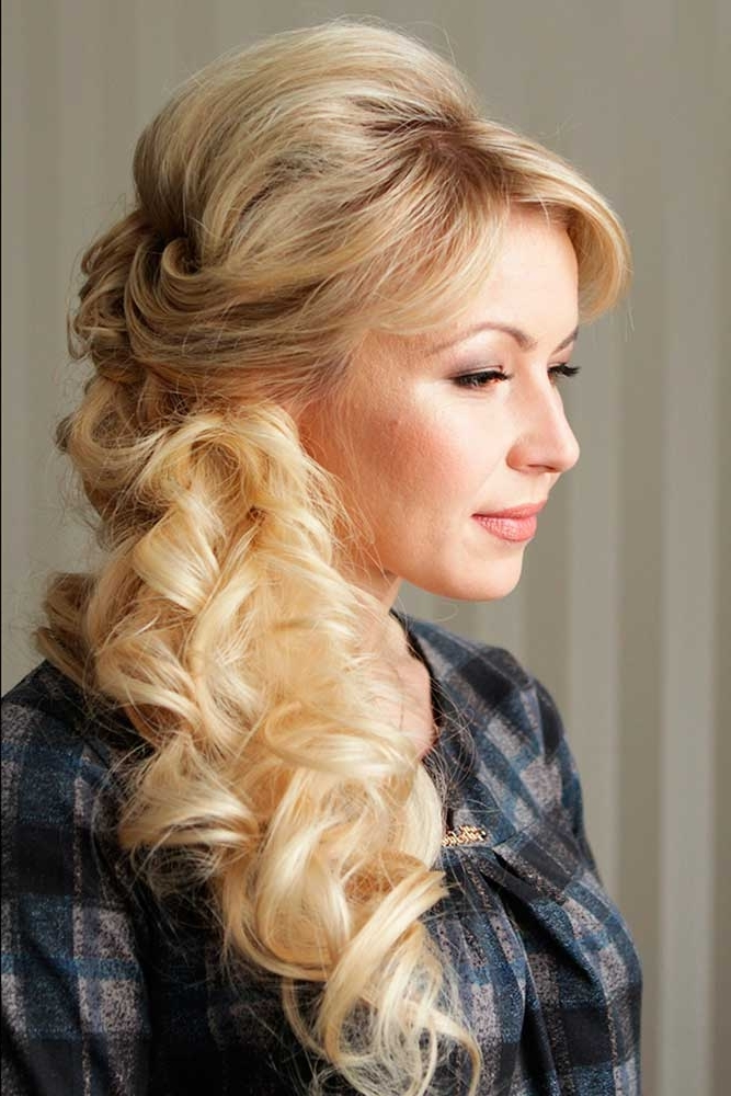 Trubridal Wedding Blog | 30 Mother Of The Bride Hairstyles Inside Mother Of Bride Wedding Hairstyles (View 5 of 15)