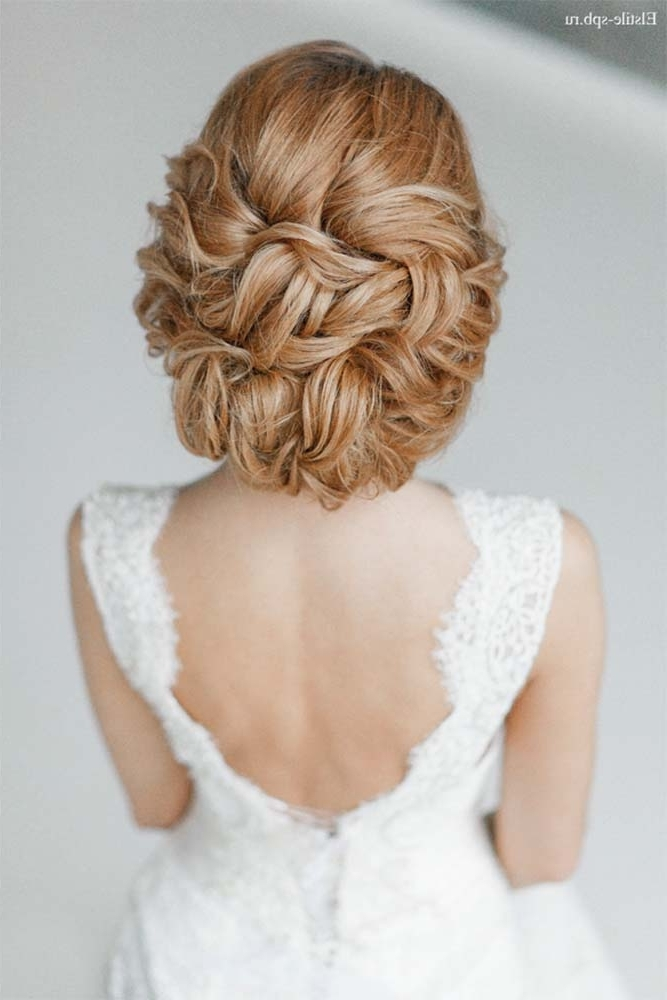 Trubridal Wedding Blog | Long Hair Archives – Trubridal Wedding Blog Intended For Chignon Wedding Hairstyles For Long Hair (View 5 of 15)