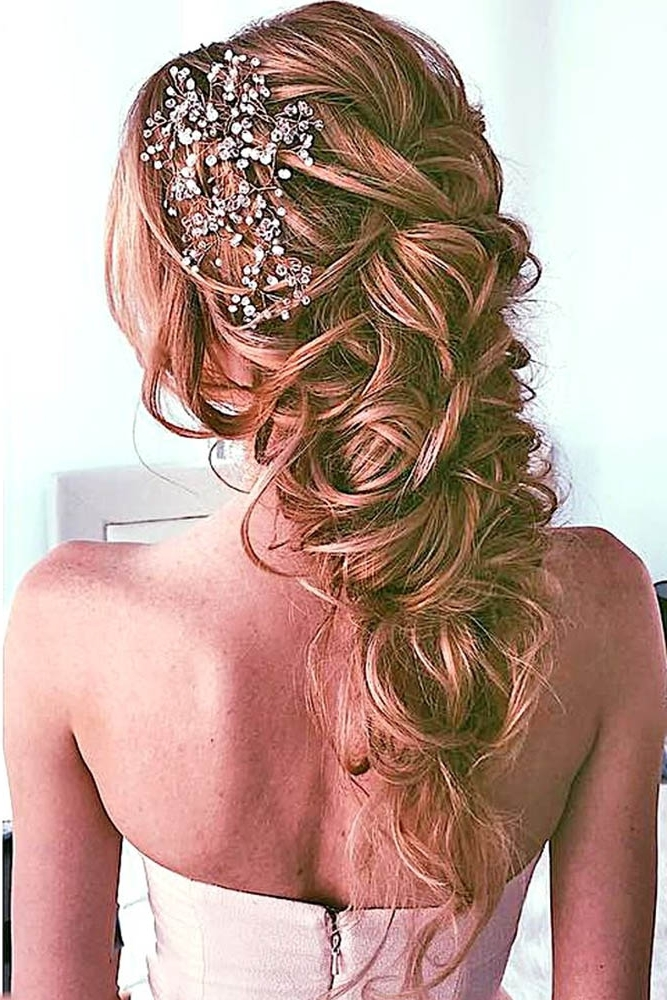 Trubridal Wedding Blog | Long Hair Archives – Trubridal Wedding Blog Pertaining To Messy Wedding Hairstyles For Long Hair (View 15 of 15)