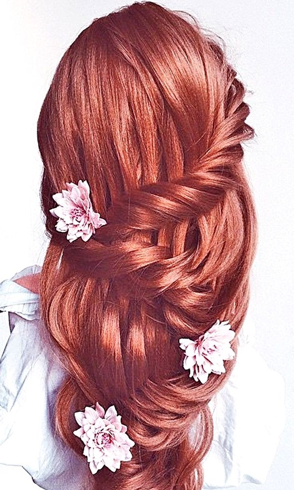 Trubridal Wedding Blog | Wedding Hair Archives – Page 2 Of 2 Regarding Wedding Hairstyles For Red Hair (View 12 of 15)