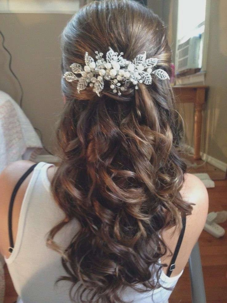 Up Hairstyles For Wedding Elegant Best 25 Brunette Wedding Pertaining To Brunette Wedding Hairstyles (View 15 of 15)