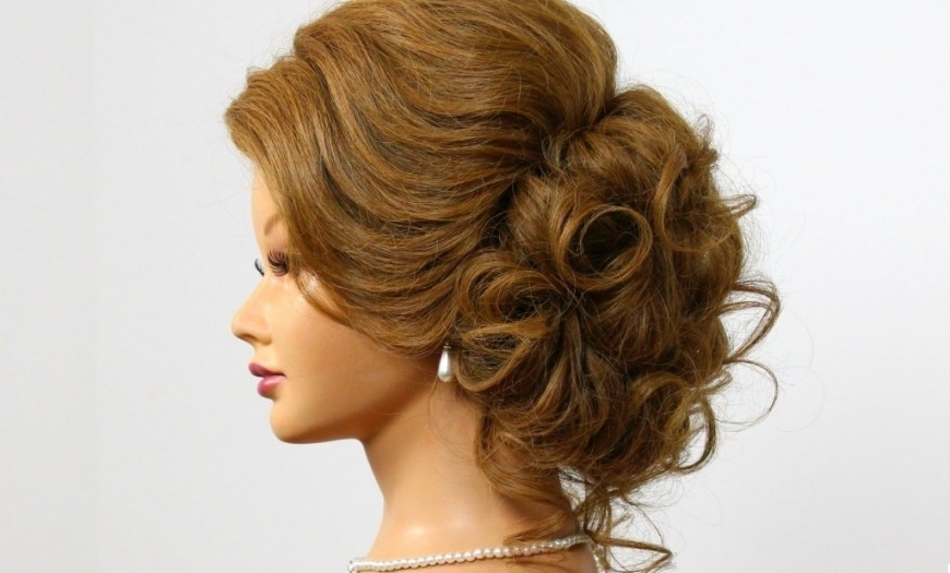 Updo Hairstyles For Medium Hair For Wedding Arabic Wedding In For Arabic Wedding Hairstyles (View 13 of 15)
