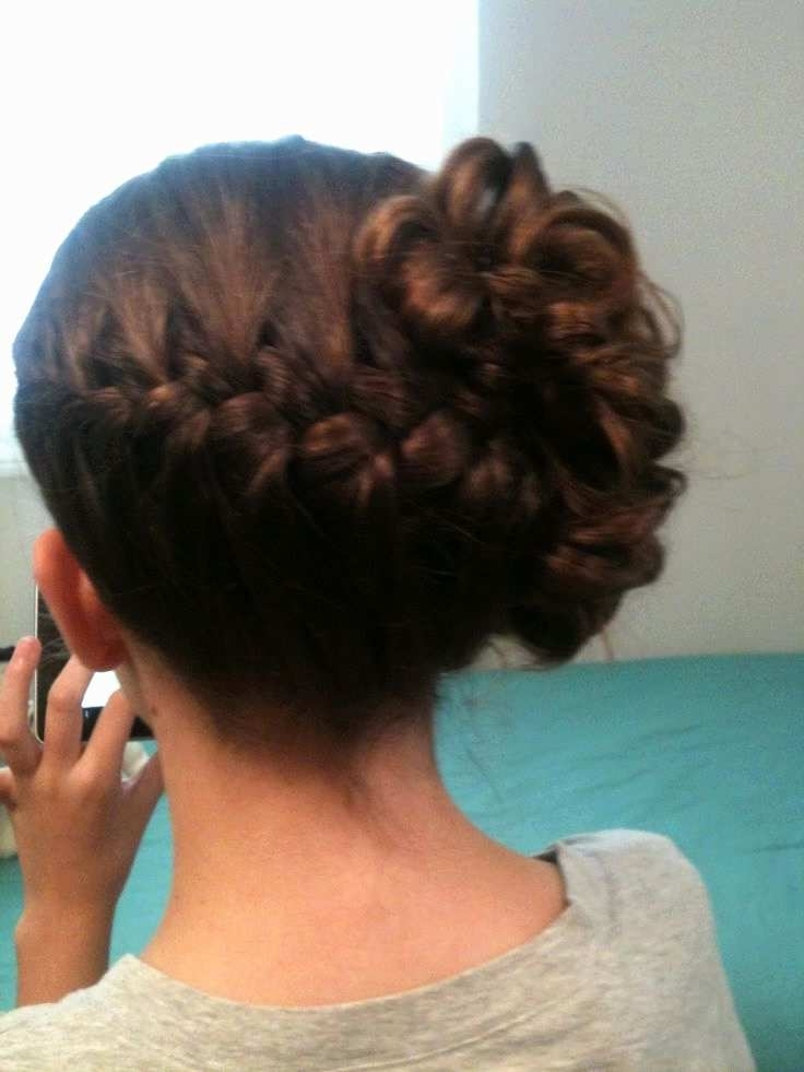 Updo Hairstyles For Weddings Bridesmaids Unique Junior Bridesmaid For Junior Wedding Hairstyles (View 11 of 15)