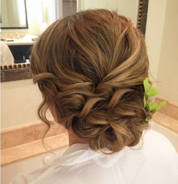 Updo Hairstyles For Weddings Topknot Wedding 13400 | Fashion Trends With Wedding Evening Hairstyles (View 10 of 15)