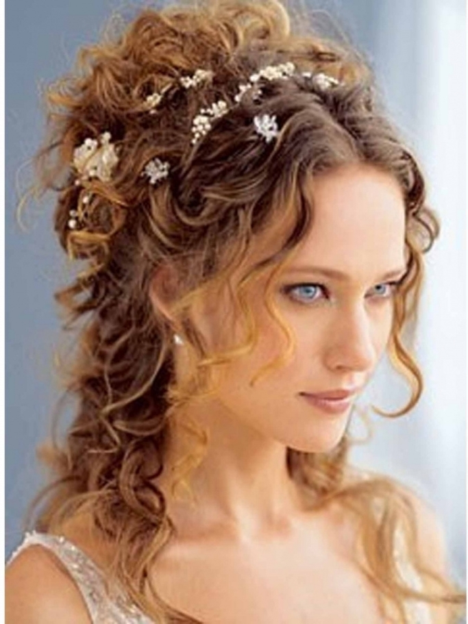 Updo Hairstyles Long Curly Hair Wedding Updos For Long Curly Hair Throughout Wedding Updo Hairstyles For Long Curly Hair (View 8 of 15)