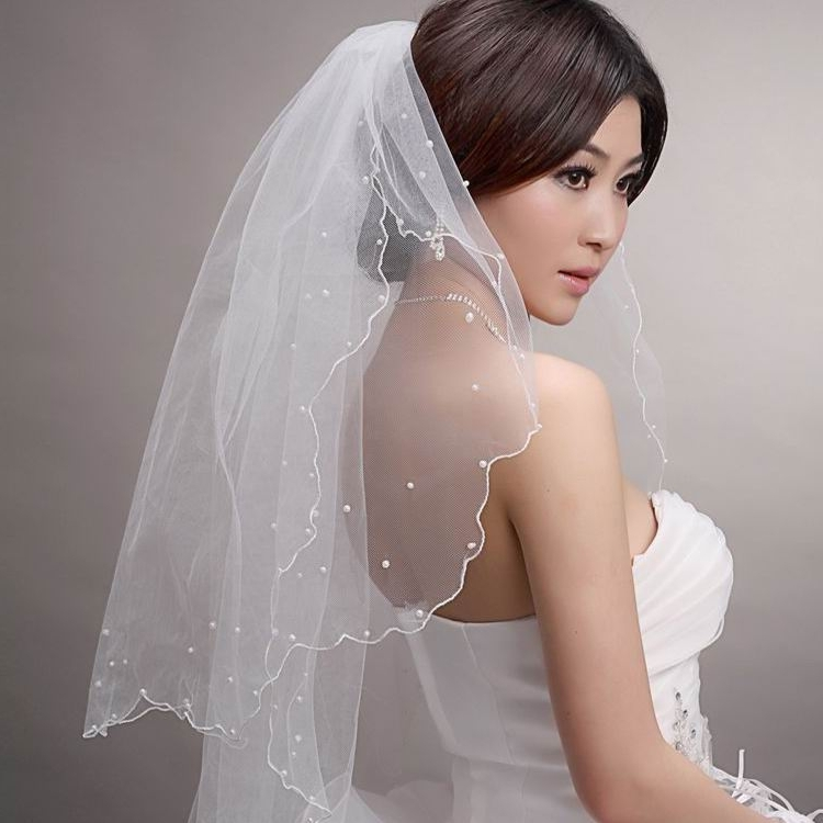 Veils For Short Hair, Wedding Hairstyles For Bridals | Weddings Eve With Regard To Bridal Hairstyles For Short Length Hair With Veil (View 8 of 15)