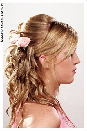Very Pretty Hairstyle For A Wedding, Night Out On The Town, Date Inside Wedding Night Hairstyles (View 7 of 15)