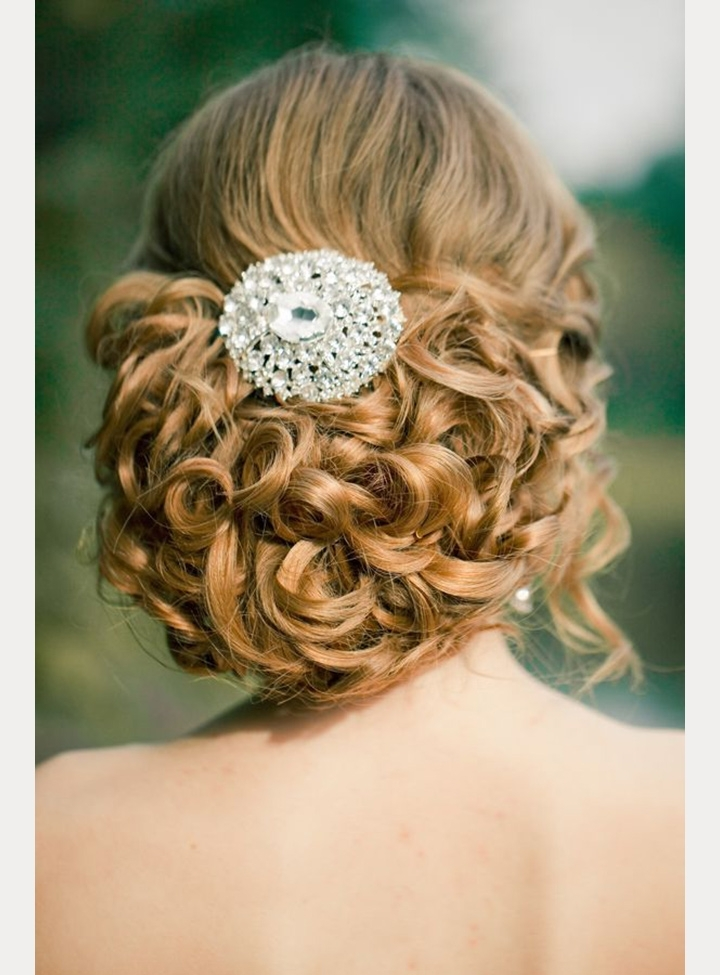 Vintage Pin Curls For Nostalgic Brides – Mon Cheri Bridals Within Pin Curls Wedding Hairstyles (View 11 of 15)