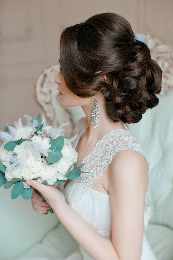 Vintage Updo Wedding Hairstyles – Oh Best Day Ever Throughout Vintage Updo Wedding Hairstyles (View 8 of 15)