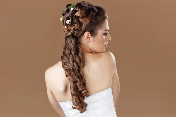 Vintage Wedding Hairstyles For Long Hair | Medium Hair Styles Ideas With Wedding Hairstyles For Vintage Long Hair (View 8 of 15)