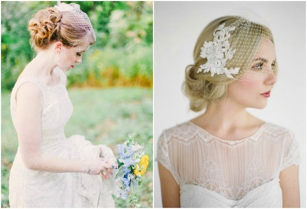 Vintage Wedding Hairstyles With Birdcage Veil – Hairstyle For Women With Wedding Hairstyles For Long Hair With Birdcage Veil (View 9 of 15)