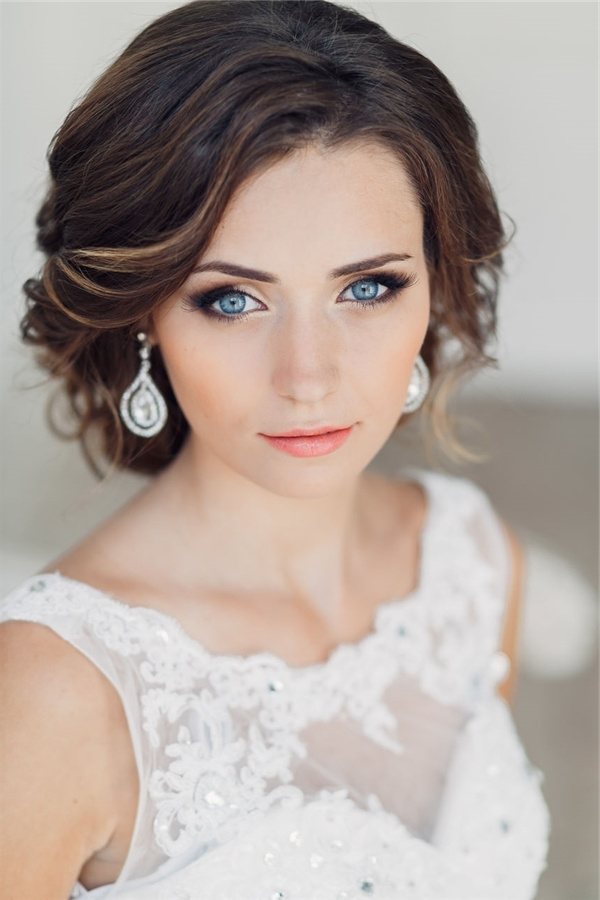 Vintage Wedding Updo Ideas | Deer Pearl Flowers Inside Vintage Updo Wedding Hairstyles (View 14 of 15)