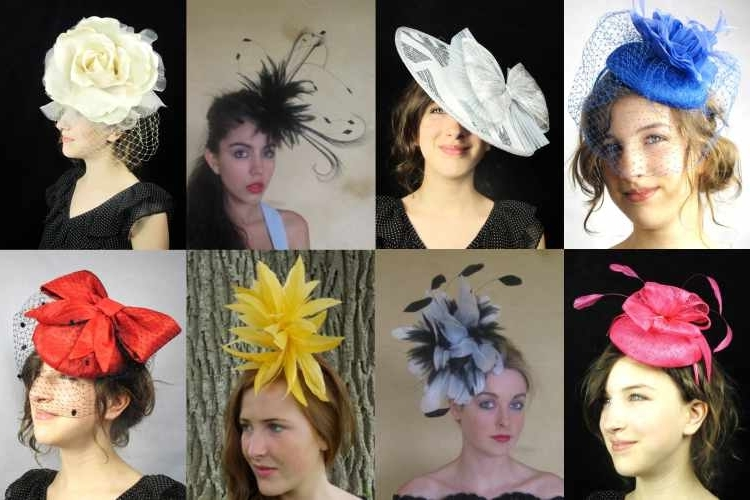 Wedding Fascinators Pertaining To Wedding Hairstyles For Long Hair With Fascinator (View 11 of 15)