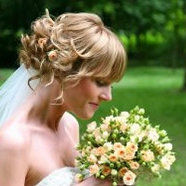 Wedding Forum – Hair Styles For Short Hair – Help! – Page 1 Of 1 Pertaining To Wedding Hairstyles For Short Hair With Fringe (View 12 of 15)