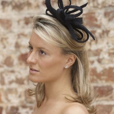 Wedding Guest Fascinators – Hostie Hats Throughout Wedding Guest Hairstyles With Fascinator (View 5 of 15)