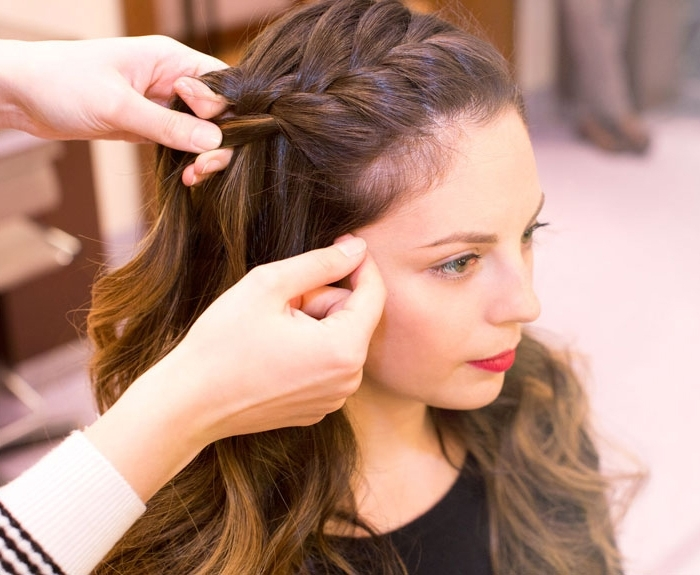 Wedding Guest Hairstyles For Long Hair – As Charming As The Bride Within Wedding Guest Hairstyles For Medium Length Hair (View 13 of 15)