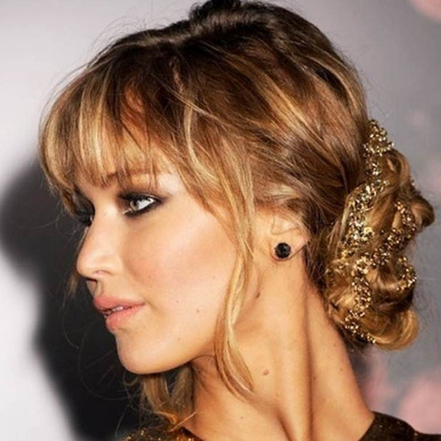 Showing Gallery of Wedding Guest Hairstyles For Medium Length Hair ...