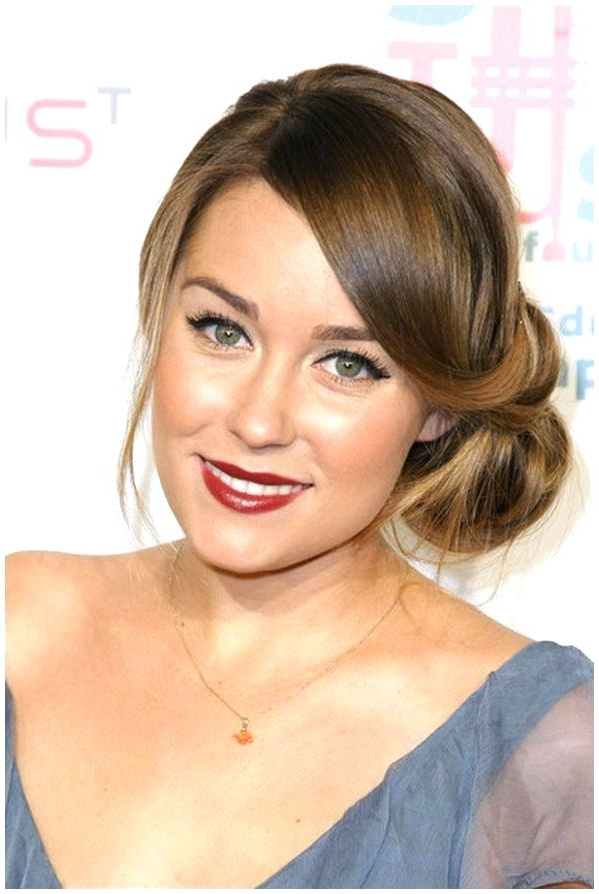 Wedding Guest Hairstyles For Medium Length Hair Wedding Guest Pertaining To Wedding Guest Hairstyles For Medium Length Hair With Fringe (View 5 of 15)