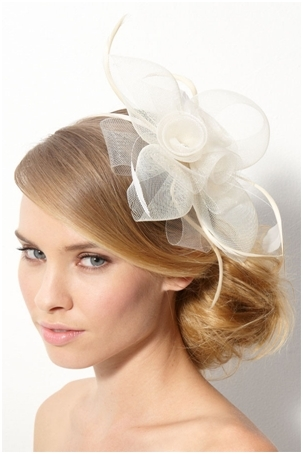 Wedding Guest Hairstyles With Fascinator | Find Your Perfect Hair Style For Wedding Guest Hairstyles For Medium Length Hair With Fascinator (View 8 of 15)