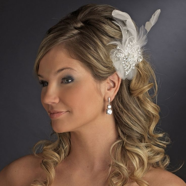 Featured Photo of Wedding Guest Hairstyles For Medium Length Hair With Fascinator