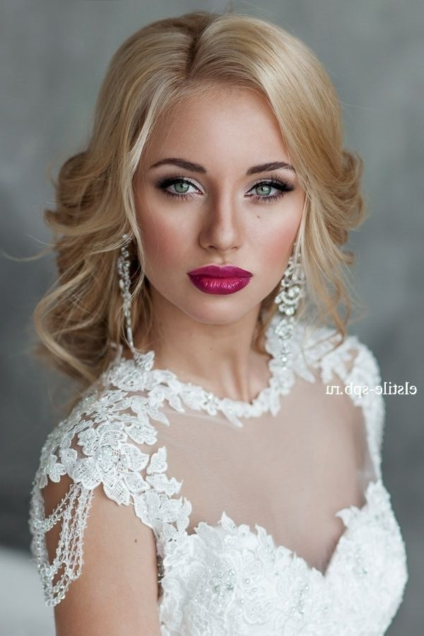 Wedding Hair And Makeup Ideas (8 Styles) – Dgfc Styles Pertaining To Wedding Hairstyles And Makeup (View 15 of 15)