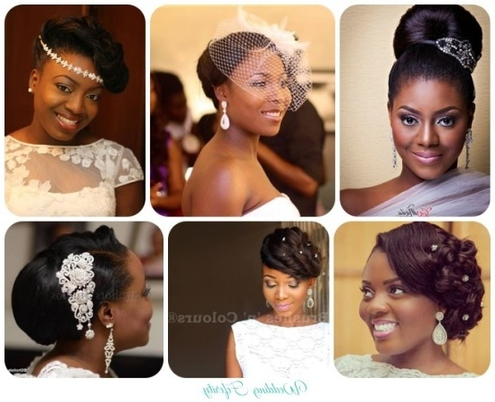 Wedding Hair And Makeup In Wedding Hairstyles For Nigerian Brides (View 4 of 15)
