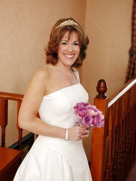 Wedding Hair & Bridal Makeup For Mature Brides & Mother Of Bride Inside Wedding Hairstyles For Older Bride (View 3 of 15)