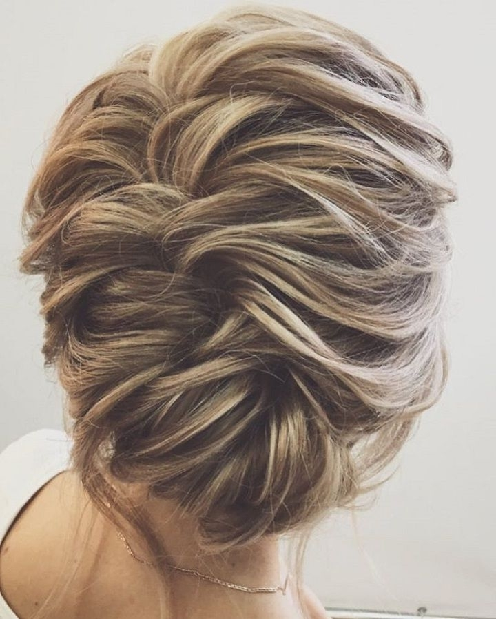 Wedding Hair Inspiration | Medium Length Hairs, Wedding And Weddings Within Wedding Hairstyles For Long Length Hair (View 4 of 15)