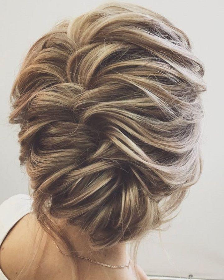 Wedding Hair Inspiration | Medium Length Hairs, Wedding And Weddings Within Wedding Hairstyles For Long Length Hair (View 12 of 15)