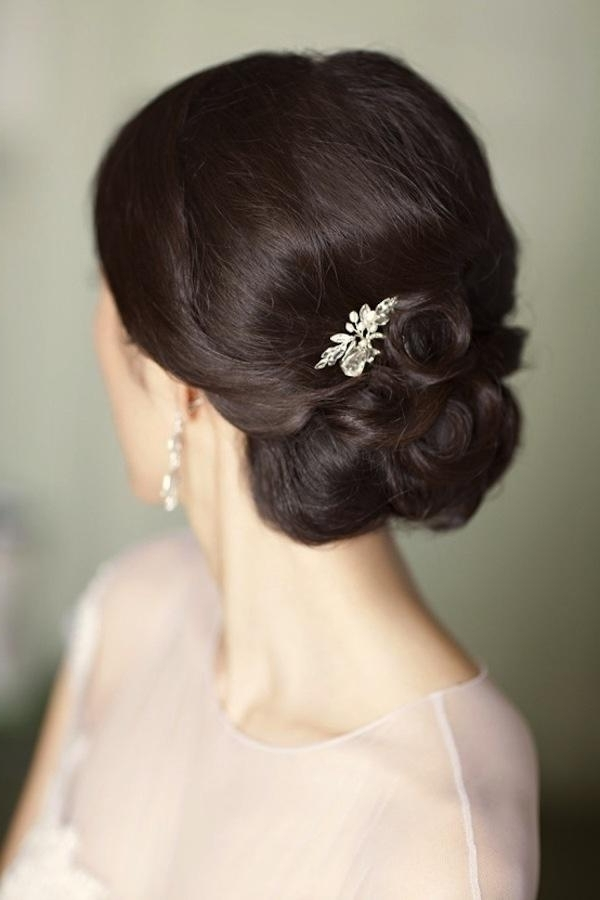 Wedding Hair Inspiration & Tutorials: The Classic Chignon #2042936 Pertaining To Chignon Wedding Hairstyles (View 15 of 15)