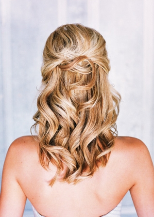 Wedding Hair Pulled Back | Hair Color Ideas And Styles For 2018 Inside Pulled Back Wedding Hairstyles (View 14 of 15)