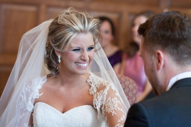 Wedding Hair Styles For Medium Length Hair – Wedding Make Up And For Bridal Hairstyles For Medium Length Hair With Veil (View 7 of 15)