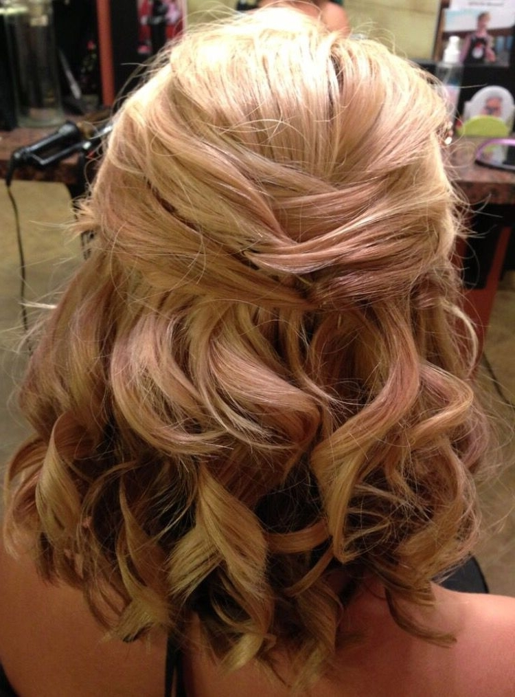 Wedding Hair Up Do | Stuff | Pinterest | Weddings, Hair Style And Within Wedding Hairstyles For Medium Length With Blonde Hair (View 13 of 15)