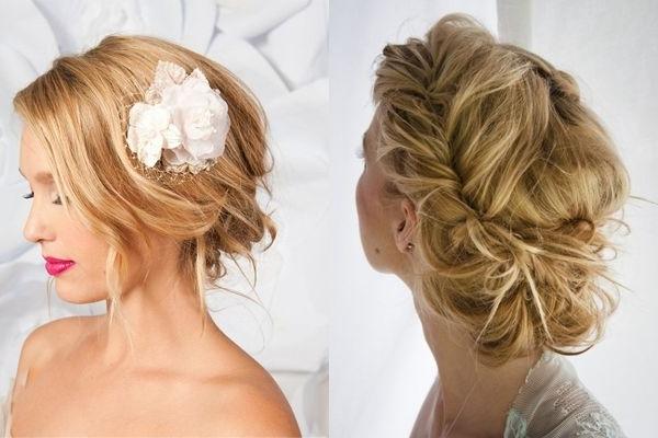 Wedding Hair | Weddings, Wedding And Messy Wedding Hairstyles Pertaining To Messy Wedding Hairstyles (View 15 of 15)