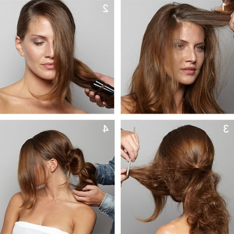 Wedding Hairstyle 101: How To Diy A Side Bun | Brides With Regard To Buns To The Side Wedding Hairstyles (View 9 of 15)
