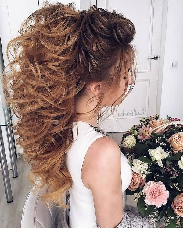 Wedding Hairstyle For Curly Hair Long – The Newest Hairstyles Throughout Wedding Hairstyles For Long Hair With Curls (View 15 of 15)