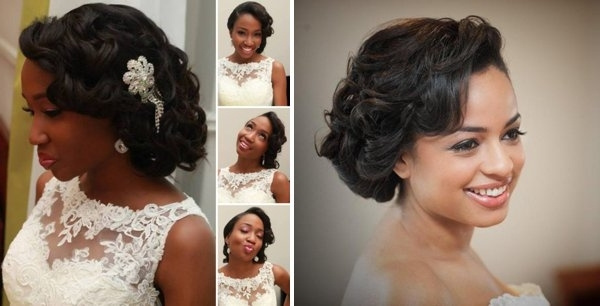 Wedding Hairstyle Ideas For The Nigerian Bride Intended For Wedding Hairstyles For Nigerian Brides (View 13 of 15)