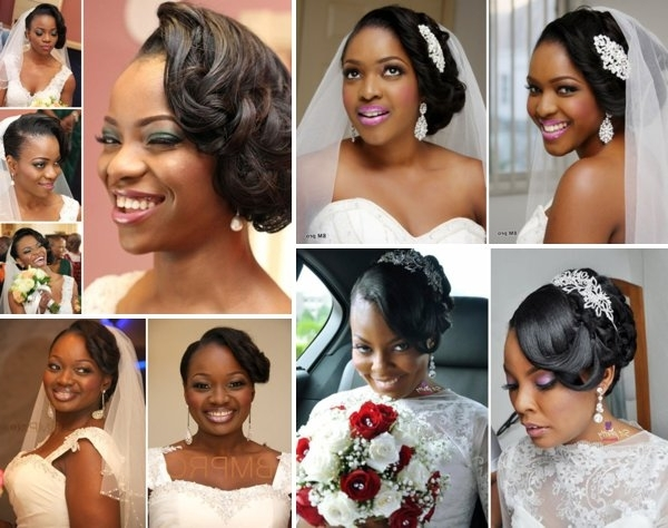Featured Photo of Wedding Hairstyles For Nigerian Brides