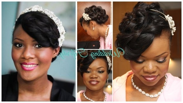 Wedding Hairstyle Ideas For The Nigerian Bride With Regard To Wedding Hairstyles For Nigerian Brides (View 14 of 15)