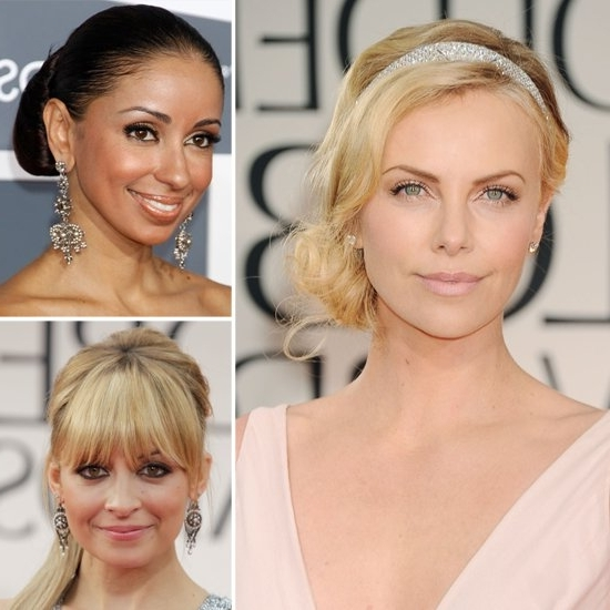 Wedding Hairstyle Ideas Inspiredcelebrities   Popsugar Beauty Intended For Celebrity Wedding Hairstyles (View 9 of 15)