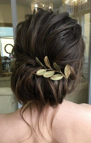 Wedding Hairstyle Inspiration – Elstile | Casual Hairstyles, Short Throughout Casual Wedding Hairstyles For Short Hair (View 5 of 15)