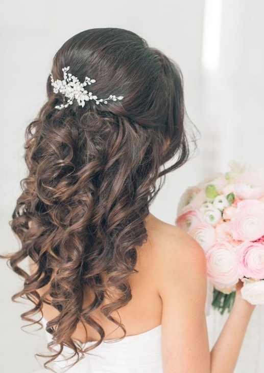 Wedding Hairstyle Inspiration | Pinterest | Weddings, Wedding And Throughout Wedding Hairstyles For Bride (View 8 of 15)